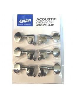 Jogo Carrilhões 3+3 Guitarra Acústica Ashton AMH16