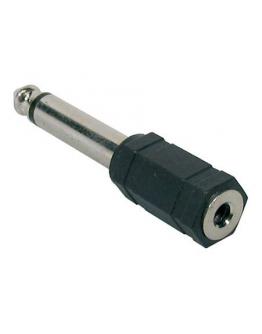 Adaptador Jack 3,5mm » 6,35mm Mono Boston AT-155