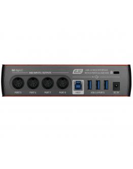 Interface MIDI USB 3.0 ESI M4U eX