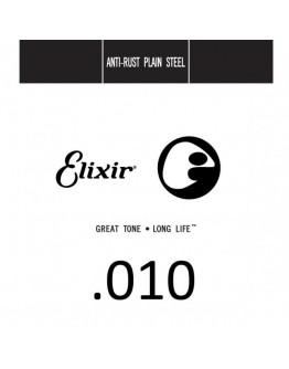 Corda Elixir .010 Plain Steel