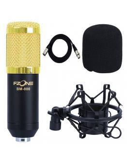 Microfone Estúdio FZone BM-800