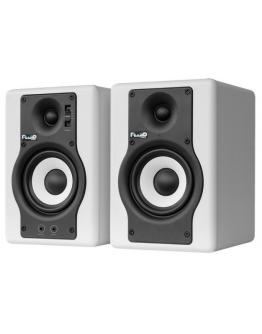 Monitores Estúdio Fluid Audio F4 WH (Par)