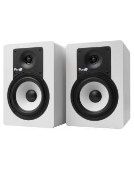 Monitores Estúdio Fluid Audio C5 WH (Par)