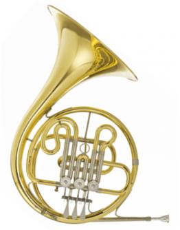Trompa Simples Sib Hans Hoyer 702G