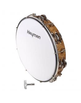"""Tamborim 10"""" Hayman MT6-102-NE"""
