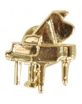 Pin Piano Cauda Dourado 2cm