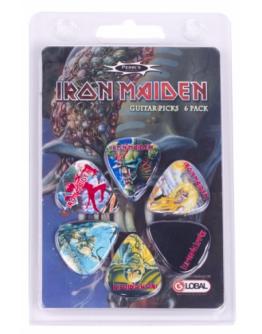 Palhetas IRON MAIDEN LP-INM1 Perri's