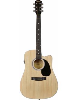 Guitarra Acústica Eletrificada Squier SA-105CE NAT