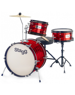 Bateria Júnior Stagg TIM JR 3/16B RD