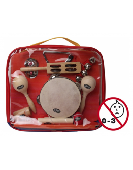Pack Percussão Infantil Stagg CPK-01