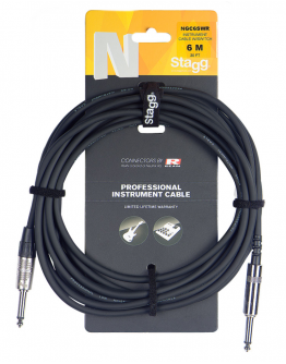 Cabo Instrumento 3m c/Switch Stagg NGC3SWR