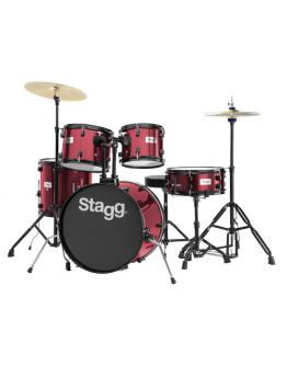 Bateria Acústica Stagg TIM120B WR