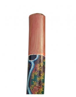 Didgeridoo Bamboo Pintado 120cm Terré