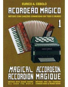 Livro Acordeão Mágico Nº1 (Oferta CD)