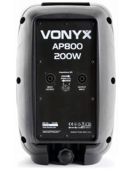 """Coluna Passiva ABS 8"""" 200W (AP800) VONYX"""