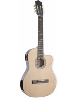 Guitarra Clássica Eletrificada Stagg C546TCE-N (Slim)