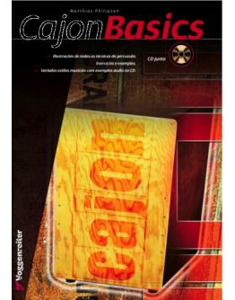 Cajon La Rosa Black Studio + Livro