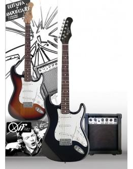 Guitarra Elétrica OFFKEY PEG01-BK