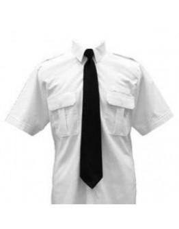Camisa Branca Meia Manga *