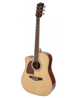Guitarra Acústica Esquerdino Richwood RD-17LCE