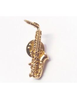 Pin Saxofone Alto Dourado 3.3cm
