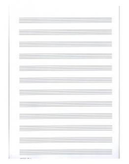 Caderno A4 Pautado 1512
