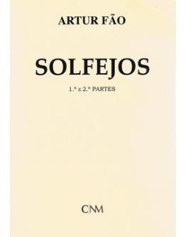 Livro Solfejos Artur Fão - 1ª e 2ª Partes