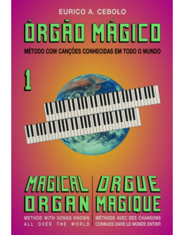 Livro Orgão Mágico Nº1