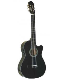Guitarra Clássica Eletrificada Gomez 001BK-CE