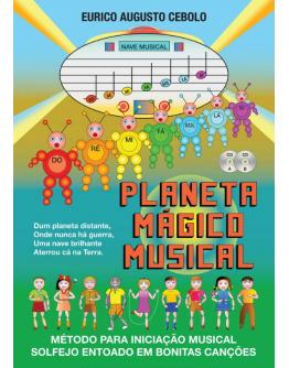 Livro Planeta Mágico Musical