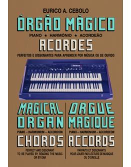 Livro Orgão Mágico Acordes