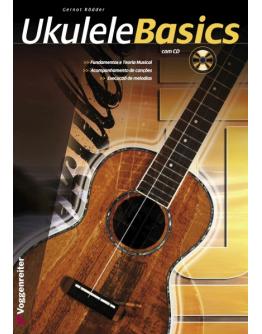Livro Ukulele Basics (Oferta CD)