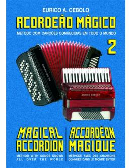 Livro Acordeão Mágico Nº2 (Oferta CD)