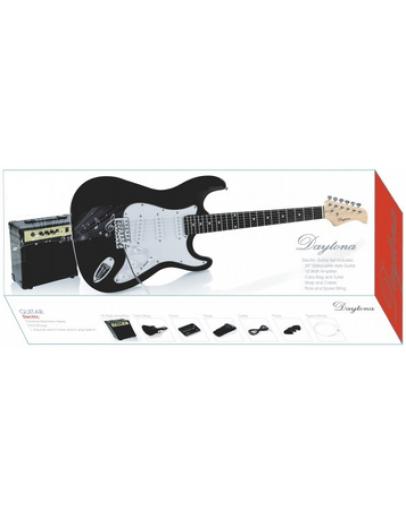 Guitarra Elétrica Daytona Black Strat Pack