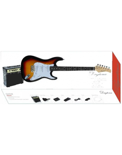 Guitarra Elétrica Daytona Sunburst Strat Pack