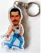 Porta-Chaves Caricatura Freddie Mercury - Queen