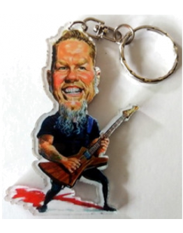 Porta-Chaves Caricatura James Hetfield - Metallica