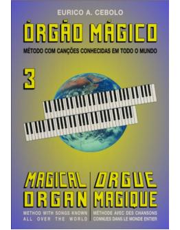Livro Orgão Mágico Nº3