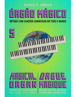 Livro Orgão Mágico Nº5