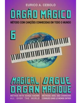 Livro Orgão Mágico Nº6