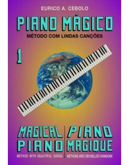 Livro Piano Mágico Nº1