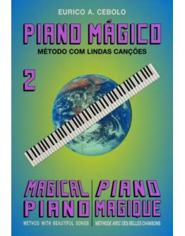 Livro Piano Mágico Nº2