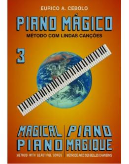 Livro Piano Mágico Nº3