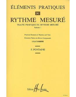 Livro Fontaine - Elements Pratiques Du Rythme Mesuré Vol.1