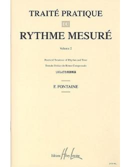 Livro Fontaine - Traité Pratique Du Rythme Mesuré Vol.2