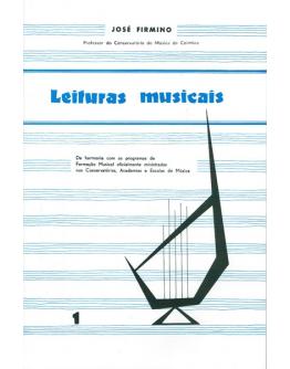 Livro José Firmino - Leituras Musicais Vol.1