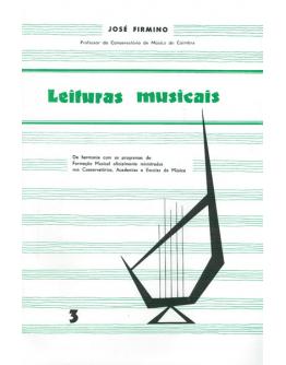 Livro José Firmino - Leituras Musicais Vol.3
