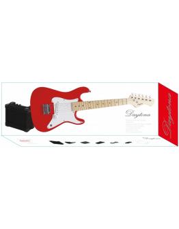 Guitarra Elétrica Daytona Júnior Red Strat Pack